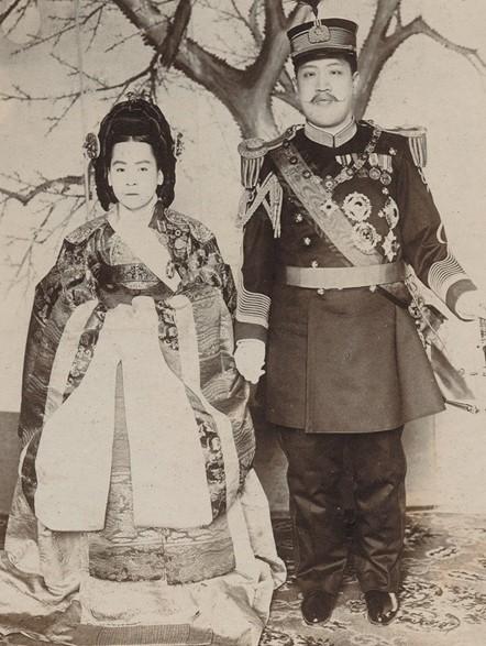 조선 마지막 황후와 장례식