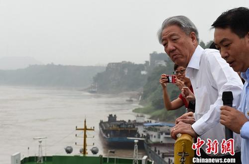 新加坡副总理张志贤访问重庆