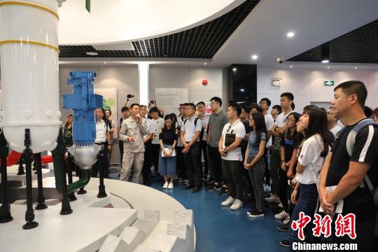 澳门青年代表参观台山核电EPR三代核电全球首堆工程