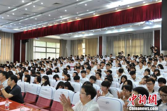 360名鄂台师生共同开启本次荆楚文化之旅 韩江波 摄