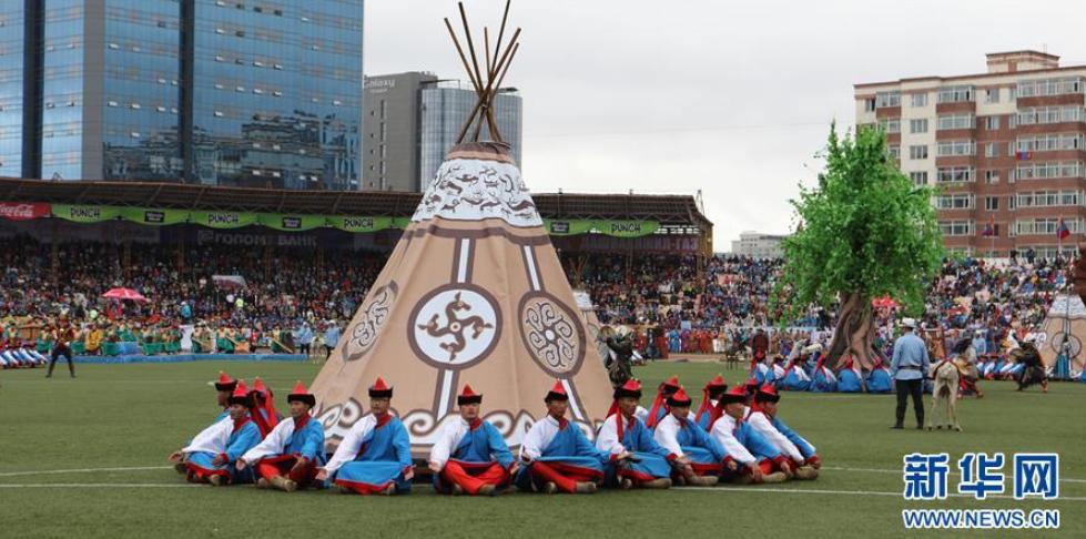 蒙古国庆祝人民革命胜利97周年