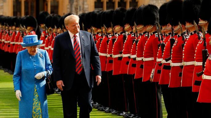 英女王单独见特朗普 查尔斯威廉王子被曝拒绝参加