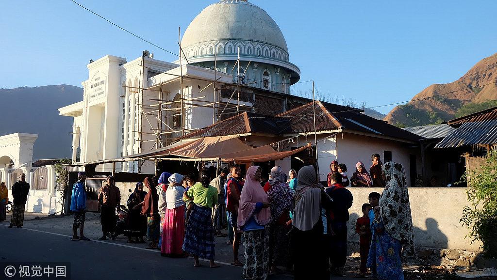 """""""还有一名游客称:""""我也在巴厘岛,地震发生时我正在潜水!"""