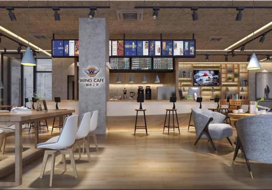 咖啡之翼新零售抢滩登陆自助咖啡机