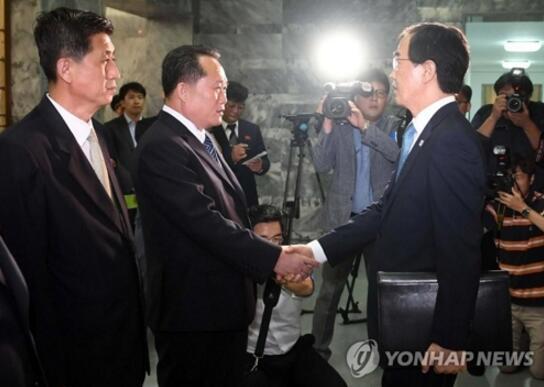 """朝韩敲定第三次""""文金会""""9月举行 选址平壤"""
