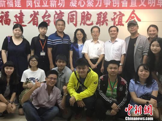 天地台联台湾创意中国研习营走进福修众地。 郑抒婷 摄
