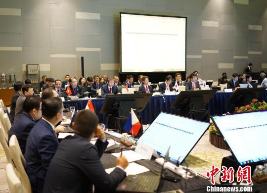第12次中国-东盟海事磋商机制会议在新加坡举行