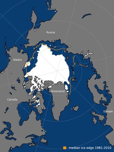 """""""最后冰区""""告急:北极最古老最厚冰层首次破裂"""