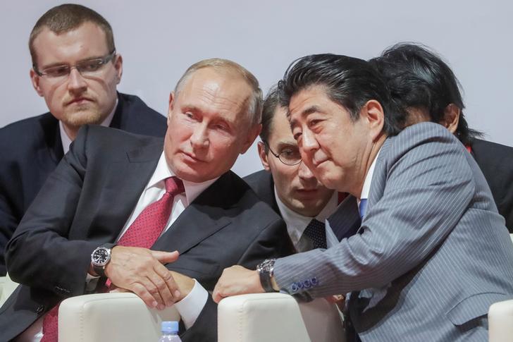 普京为何提出签日俄和平条约?日媒:快被安倍烦死
