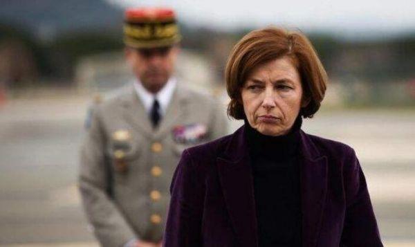 圖為法國防長弗洛朗絲·帕利