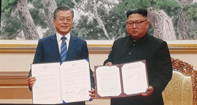 朝韩《9月平壤共同宣言》(全文)