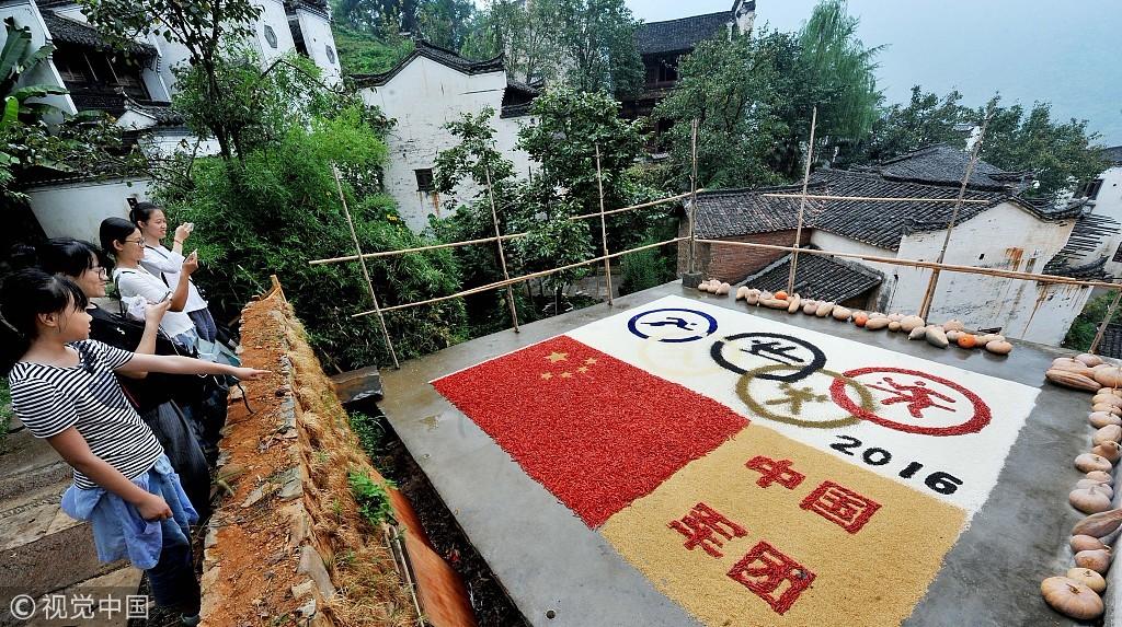 """国庆69周年 盘点那些粮食做成的""""中国心"""""""