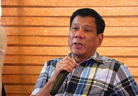 菲律宾总统杜特尔特 资料图