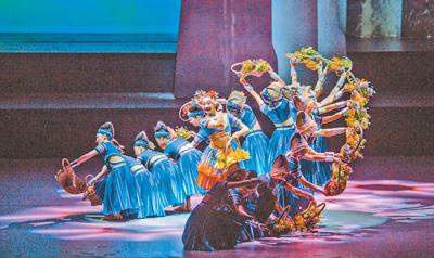 大型原创民族舞剧《花界人间》首演