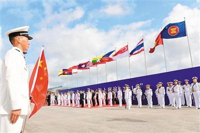 南海问题降温 中国-东盟战略合作更进一步