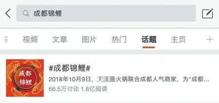 """1万成本微博涨粉28万""""成都锦鲤""""背后的网络营销"""