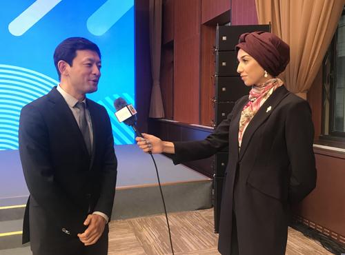 金山WPS CEO葛珂接受外国媒体专访