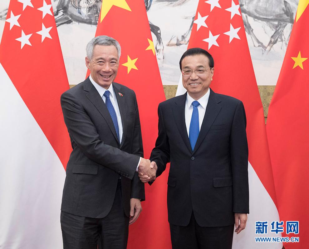 中国总理出访新加坡,时机意味深长