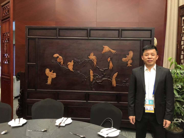 中国工艺亮相APEC会场!这件作品寓意深厚(图)