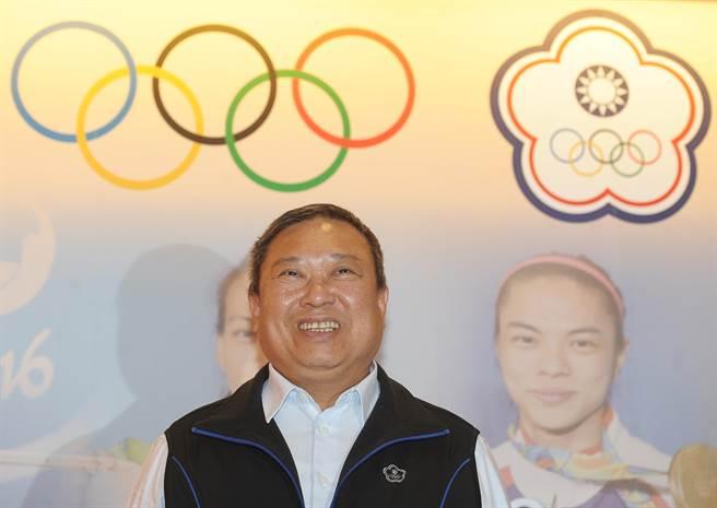 中国台北奥委会主席林鸿道(来源:中时电子报)