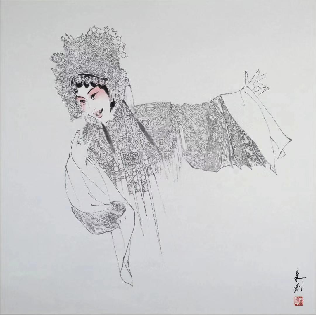 沪港澳台绘画联展开幕 海派画家朱刚作序