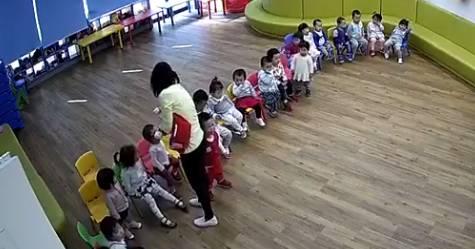 携程虐童事件最新进展:托幼所未备案 老师下跪道歉