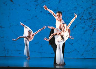 林怀民去年推出第90出舞作《关于岛屿》,为其云门舞集艺术总监生涯画