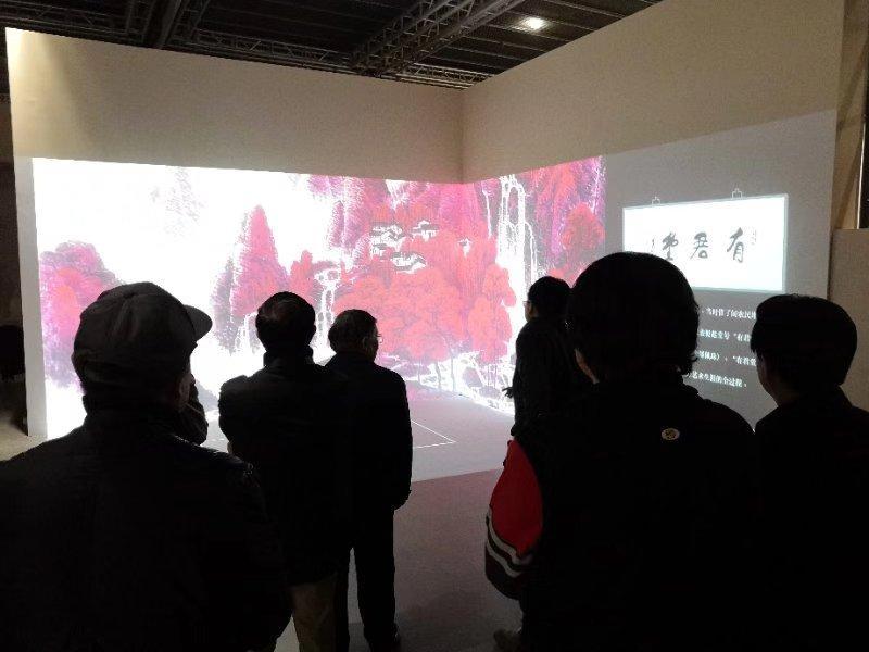 """嘉德艺术中心""""神奇的光立方""""使传统文化更具吸引力"""