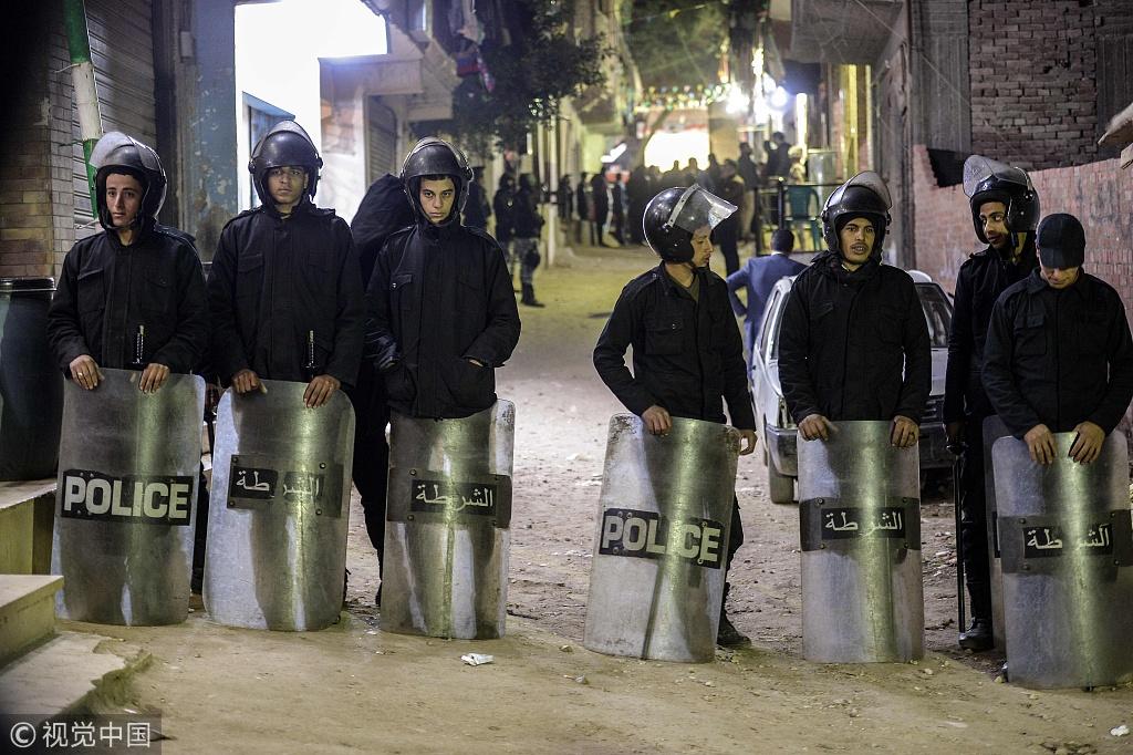 埃及首都开罗发生炸弹爆炸事件 致1死1伤