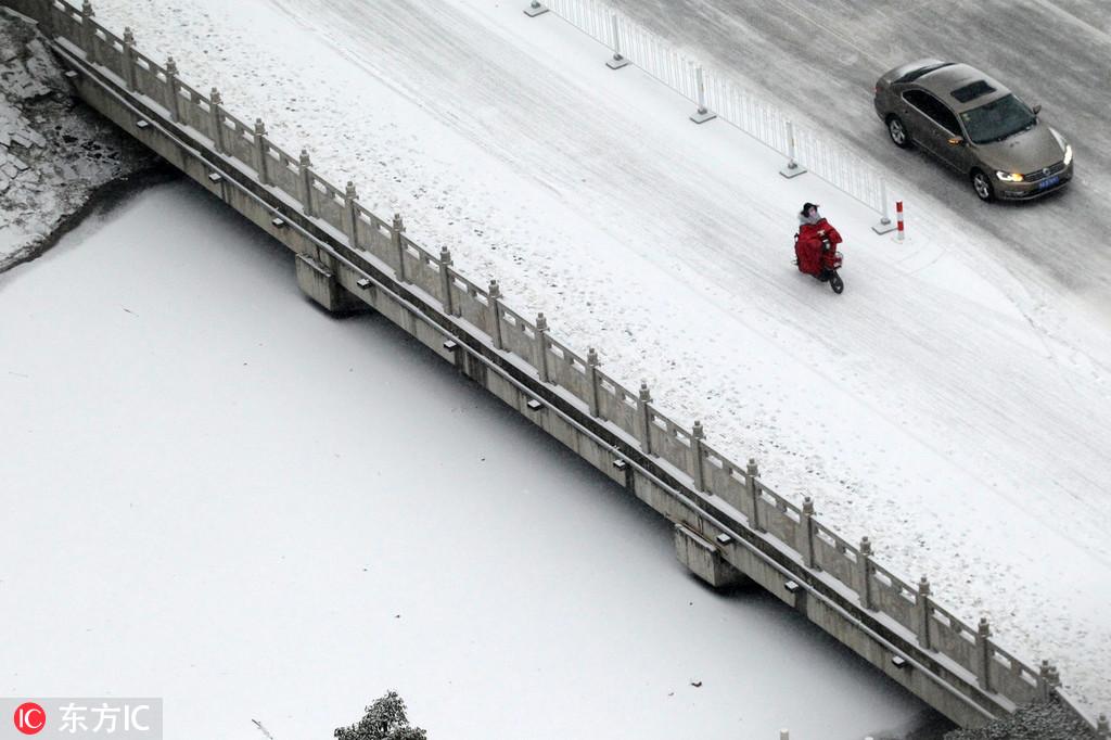 精选:全国多地迎2019年第一场雪