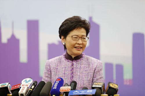 林郑月娥会晤国际电联秘书长 冀加强合作与联系