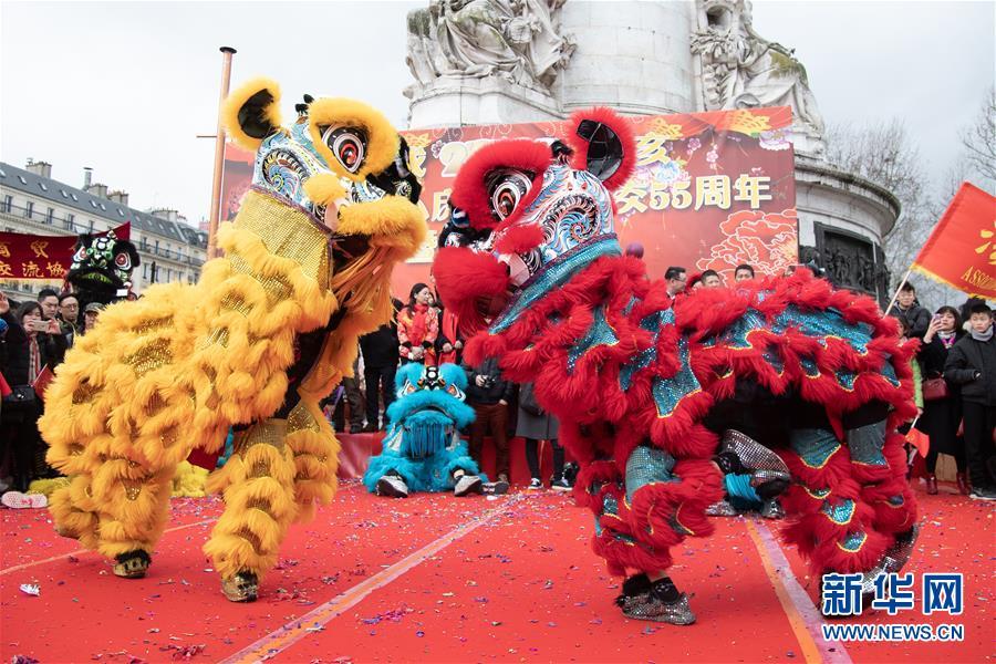巴黎举行活动庆祝中国农历新年