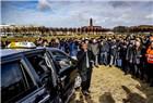荷兰出租车司机集会示威