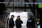 伦敦机场现爆炸物包裹