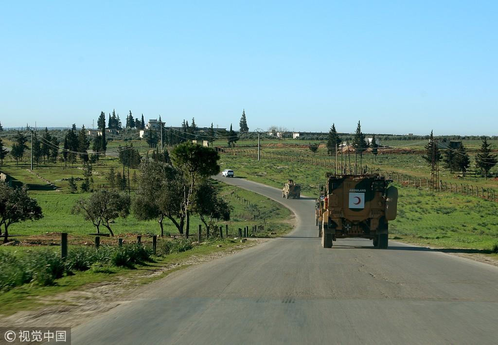 土耳其开始在叙利亚伊德利卜地区巡逻