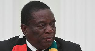 """津巴布韦总统:与中国共同加快""""一带一路""""建设"""
