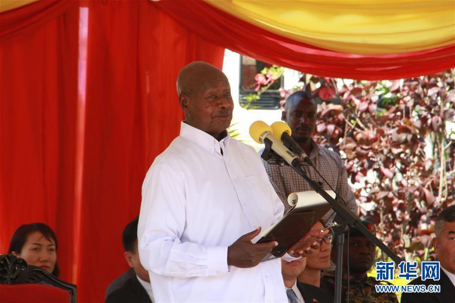 乌干达总统赞赏中国投资