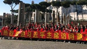 海客行天下:华侨华人热烈欢迎习主席到访