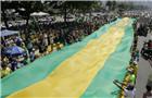 巴西民眾發起反腐敗集會