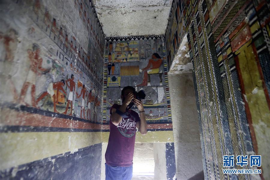 埃及塞加拉发现一座第五王朝时期贵族墓葬