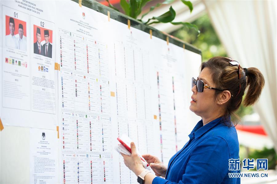 印度尼西亚举行总统选举