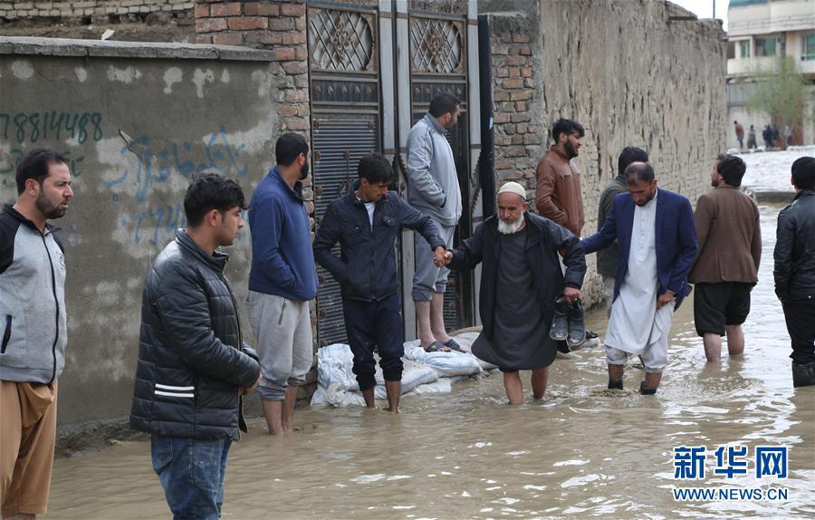 阿富汗突发洪水