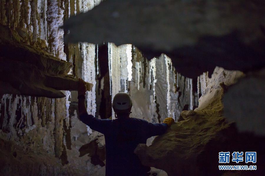 以色列发现世界最长盐洞