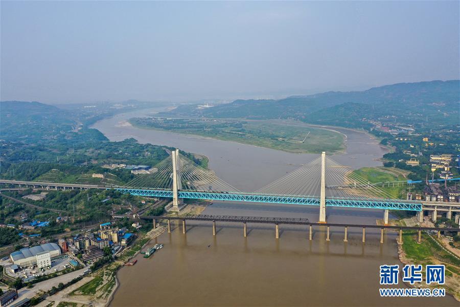 """重庆首座长江大桥""""退役"""""""