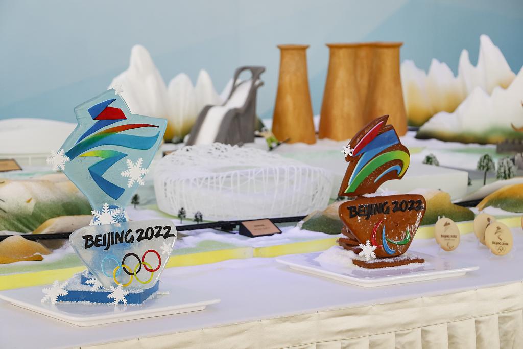 北京:冬奥主题餐台亮相亚洲美食节