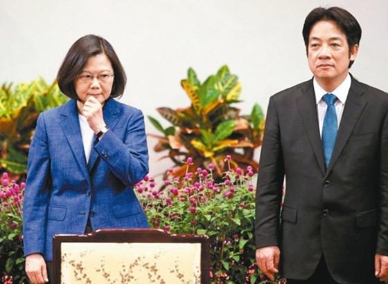 赖清德否认谣言:蔡英文说谎还是幕僚说谎?