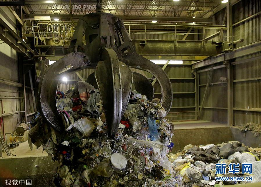 加拿大垃圾处理厂将处理从菲律宾运返的垃圾