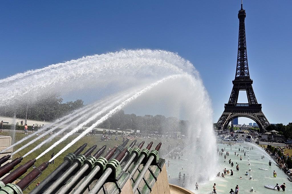 45.9度!法国高温打破多项历史记录