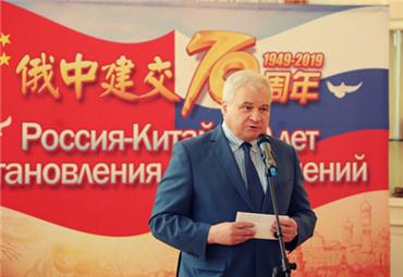俄罗斯驻华大使:安德烈·杰尼索夫