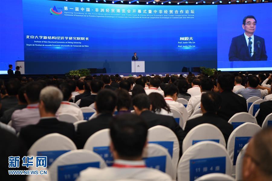 第一届中国-非洲经贸博览会开幕